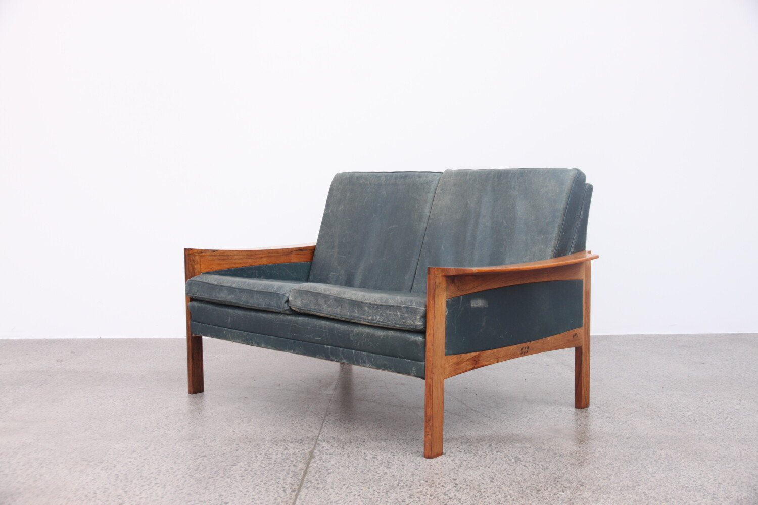 Leather Sofa by Arne Wahl Iverson