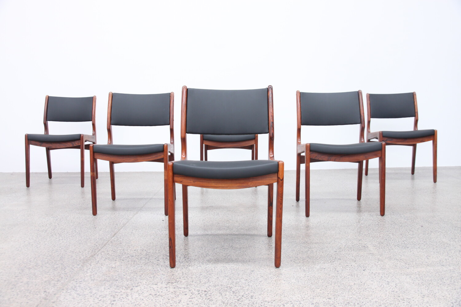 Six Dining Chairs by Erik Buch