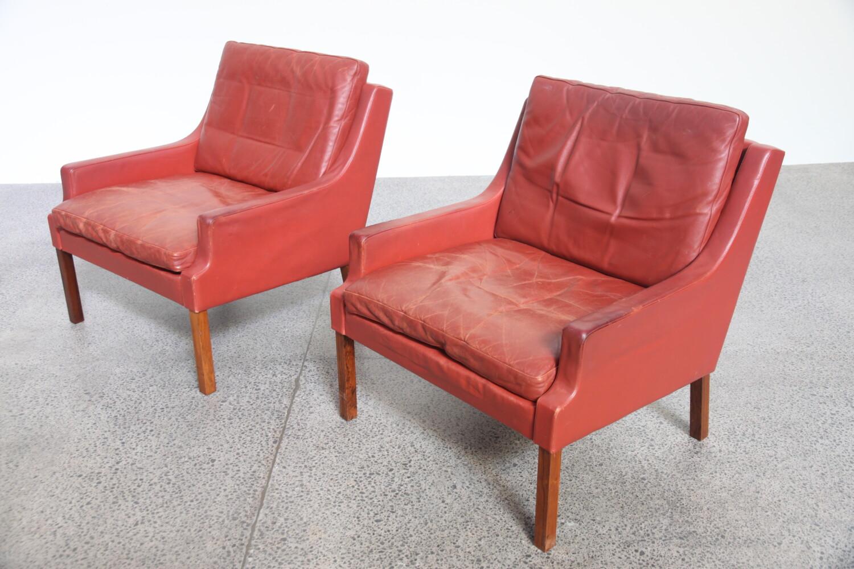 Armchairs by Hans Olsen