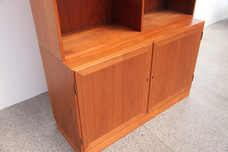 Teak Bookcase by Kai Winding sold