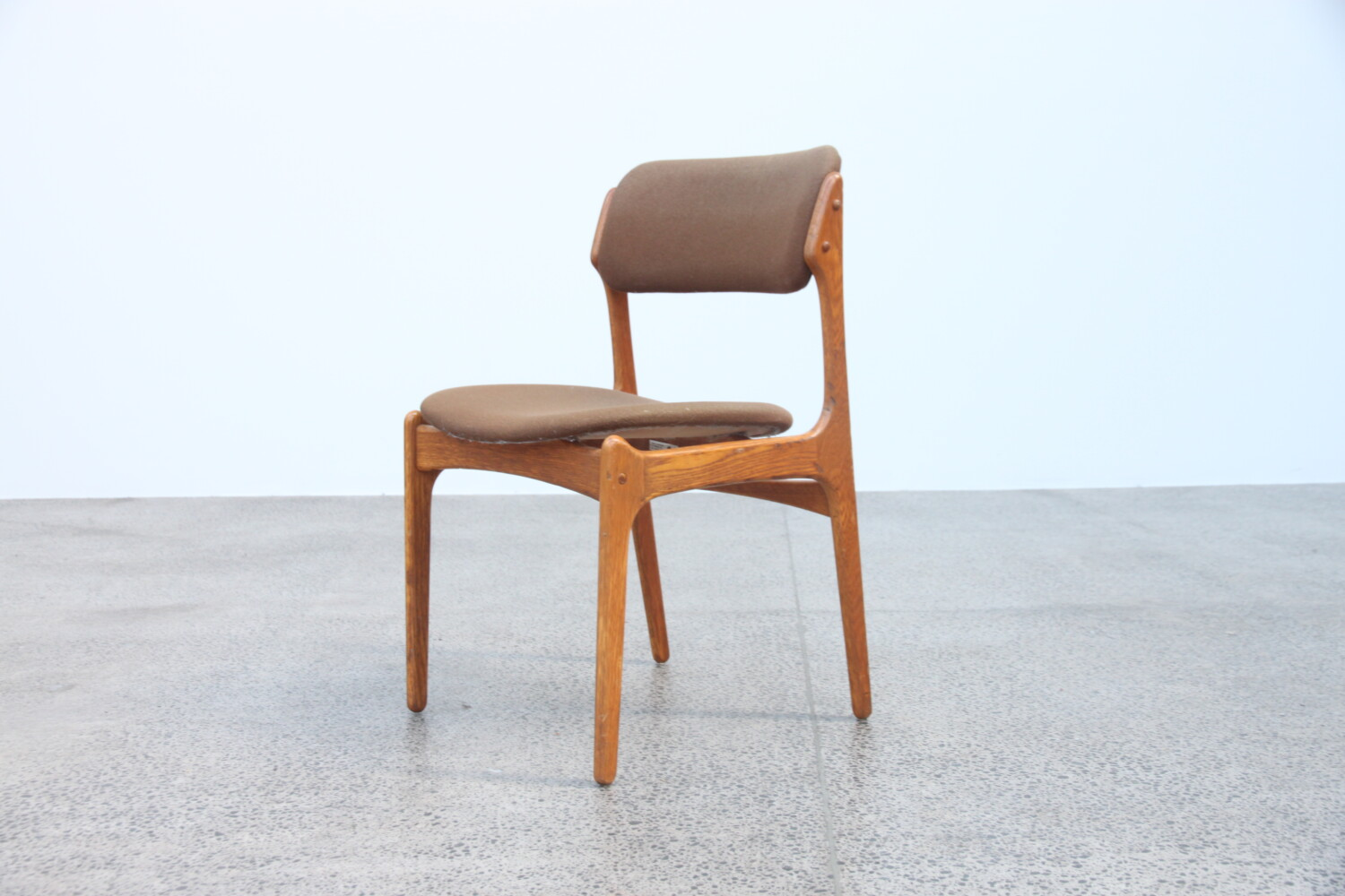 Dining chairs by Erik Buch x10
