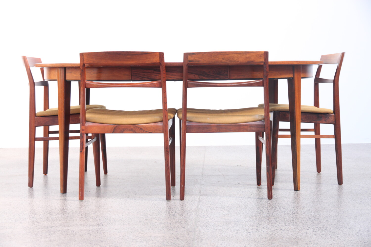 Rosewood Extendable Table by Gunni Omann