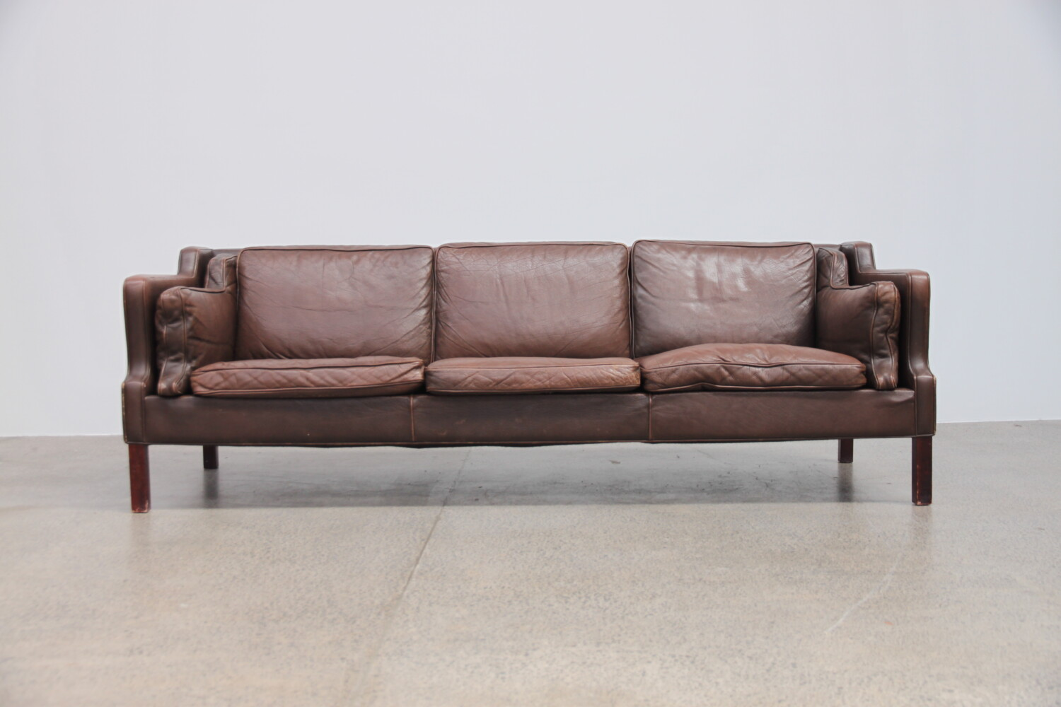 Brown Leather Sofa sold