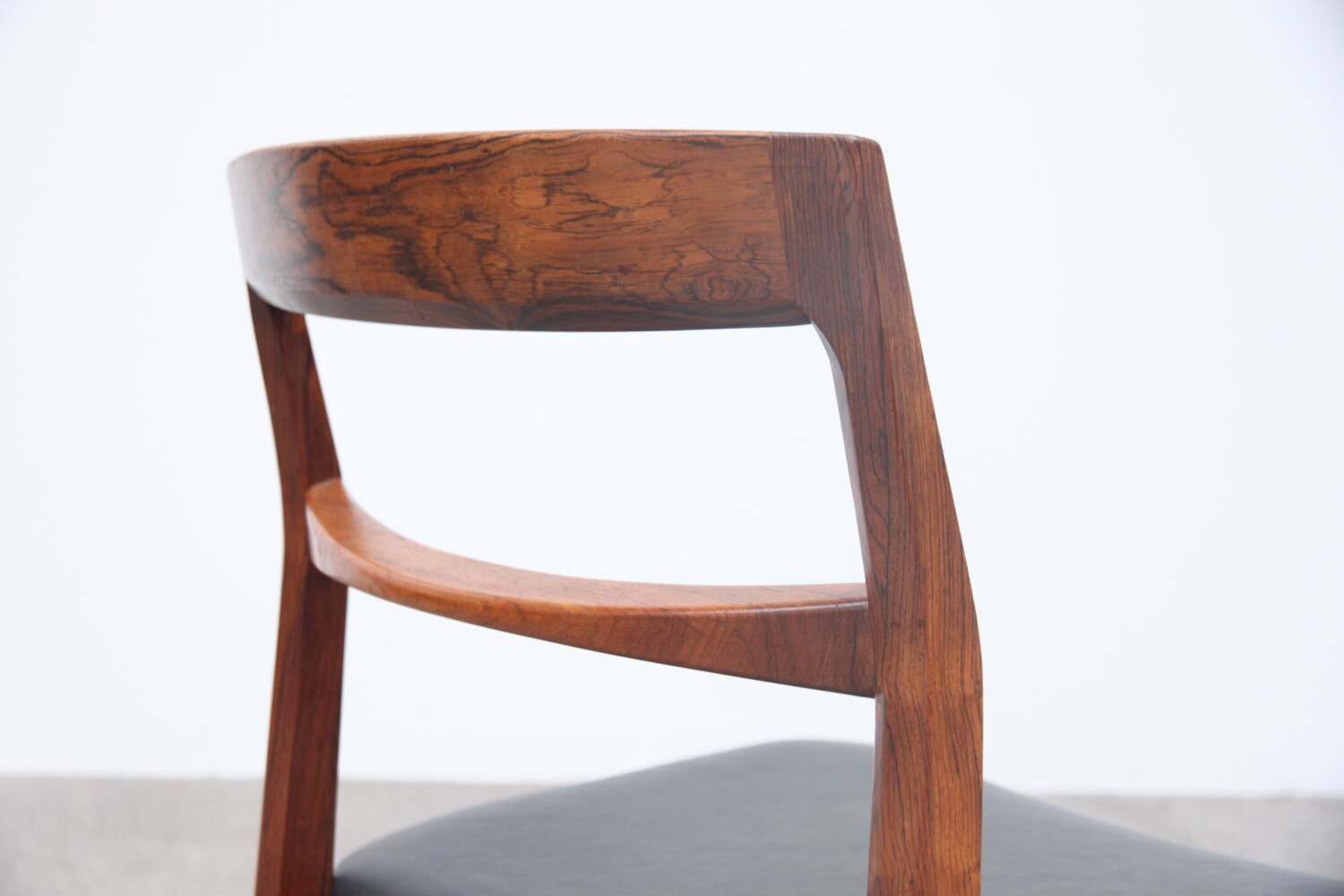 Rosewood Dining Chairs by Henning Kjaernulf