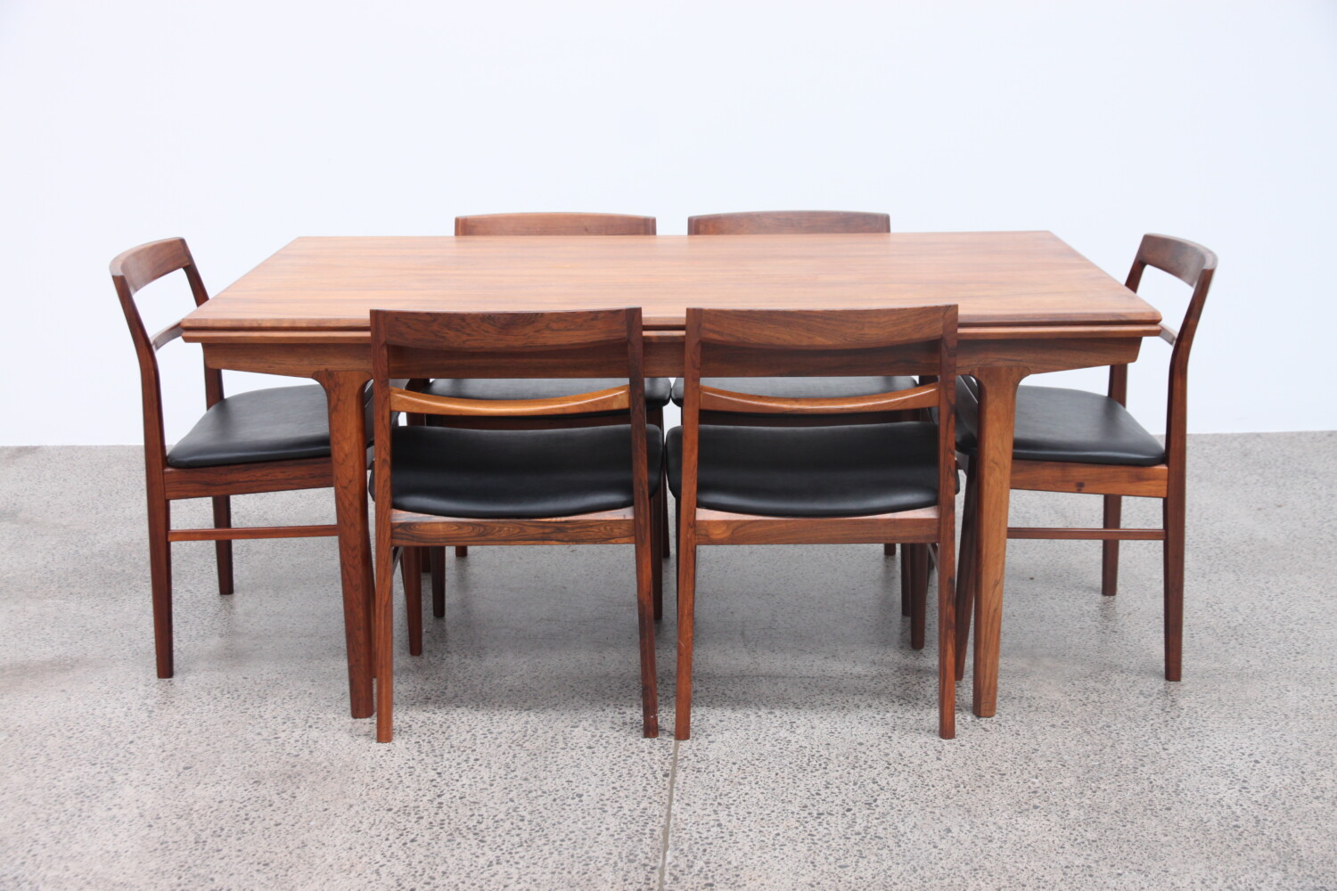 Rosewood Dining Table by Johannes Anderson